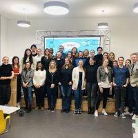 Gruppenfoto Abschlusspräsentationen Digital Marketing WS 2019/20